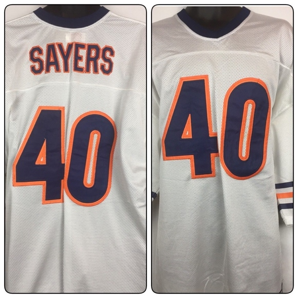 7378f224 Mitchell & Ness Shirts | Gale Sayers Chicago Bears 1969 Jersey ...